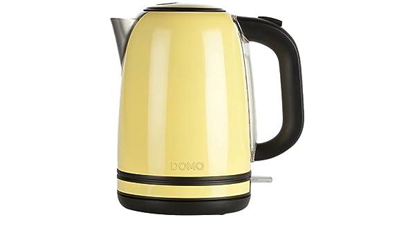 Domo Kussen Baby : Amazon.de: domo do490wk wasserkocher pastell gelb