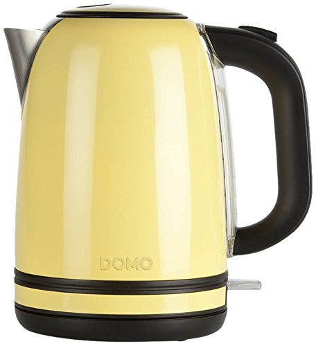 Domo DO490WK Wasserkocher, pastell gelb