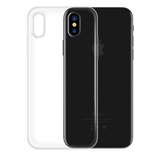 5a65d6642bf 4-OK Ultra Slim 0.2 Color Schutzhülle für Apple iPhone X - Transparent