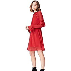 find. MDR 40471 robes, Rouge (Rot), 44 (Taille Fabricant: X-Large)