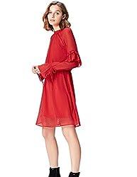 find. MDR 40471 kleider, Rot, 36 (Herstellergröße: Small)