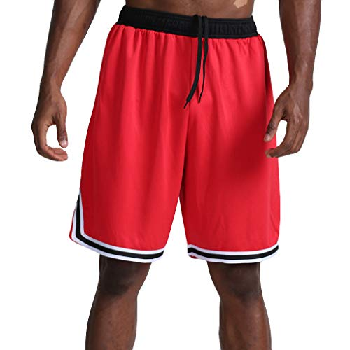 AmyGline Hosen Herren Shorts Neu-Männer CasualMode Lose Schnell Trocknend Outdoor Sports Shorts Joggen Fitness Basketball Shorts Kurze Hose Freizeithose Sweatpants Strandshorts