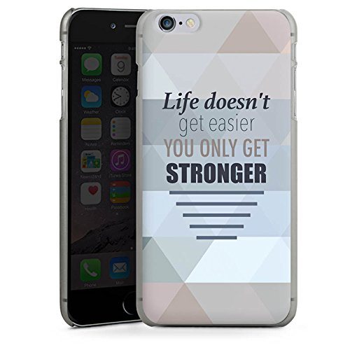 Apple iPhone X Silikon Hülle Case Schutzhülle Motivation Workout Sprüche Hard Case anthrazit-klar