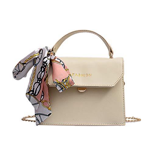ZYUEER Handtaschen Damen Schal Vielseitig Messenger Bag Mode Einzelne Schulter Kleine Quadratische Tasche -