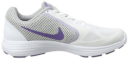 Viola bianco Nera Grigio Da lupo Corsa Laufschuhe Nike 3 Scarpe Terra Rivoluzione Damen Donna OXzvgwqw