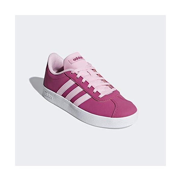 adidas VL Court 2.0 K, Scarpe da Fitness Unisex – Bambini 4 spesavip
