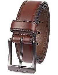 a48ef65e279 Levi  s Cinturón de piel para hombre con centro de acolchada