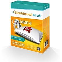 Staubbeutel-Profi® MSP - 10 sacchetti tipo G/N per aspirapolvere Miele S 8310, S 8320, S 2111, serie S 8, Electronic 8300, S 8330, S 8530, S 8730, S 8730, Special S 8930, Premium 8000, fabbricati in Germania
