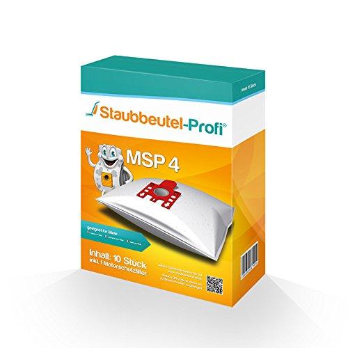 10 Staubsaugerbeutel geeignet für Miele S8 UniQ, S8 Parkett & Co, S8 Cat & Dog, S8 Haus & Co, S8 Medicair, Made in Germany von Staubbeutel-Profi®