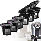 Best Maisons Keurig - Lot de 6 filtres à café rechargeables pour Review