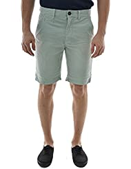 shorts bermudas lee cooper nash 4010 garment dye vert