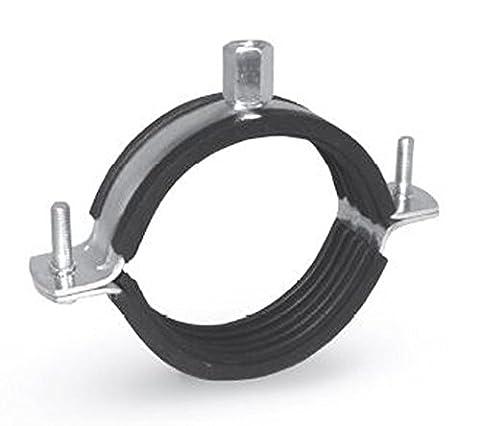 Gah-Alberts Collier de serrage avec insert en caoutchouc pour tuyaux lourds Colliers de serrage Clamp w1norma Colliers, 40-45 mm