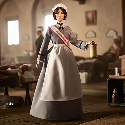 Barbie -  Collector,  Mujeres que Inspiran,  Muñeca Florence Nightingale (Mattel GHT87)