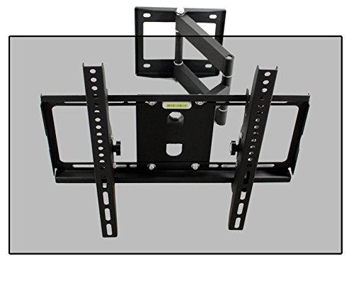TV LED LCD Plasma Curved TV Wandhalterung Halterung Schwenkbar Neigbar ein Arm Wandhalter für Fernseher mit 76 - 140 cm (30 - 55