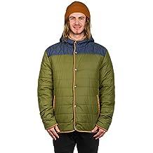 Light Hombre Mens Jacket coldster Technical Outerwear, todo el año, hombre, color Denim Green, tamaño M