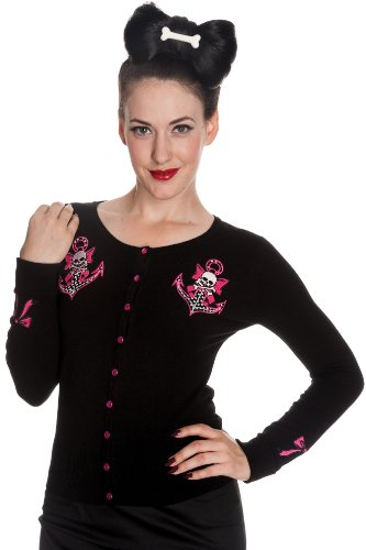 Hell Bunny -  Cardigan  - Donna Nero X-Small