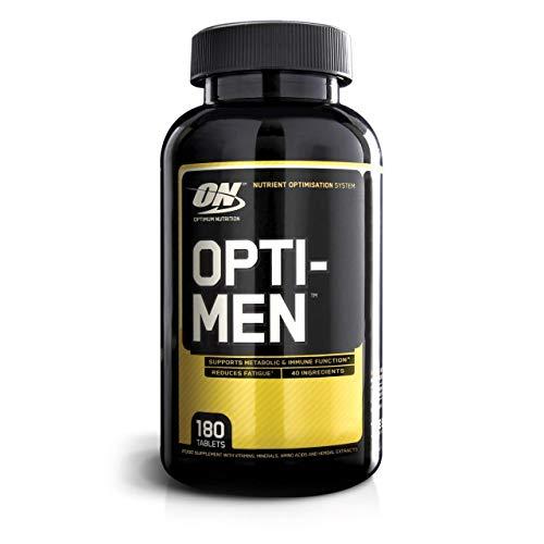 Optimum Nutrition Optimen- Multivitamin und Mineralien Tabletten (mit Vitamin D, Vitamin C, Vitamin A und Aminosäuren, Multivitaminen) Unflavoured 60 Portionen 180 Tabletten