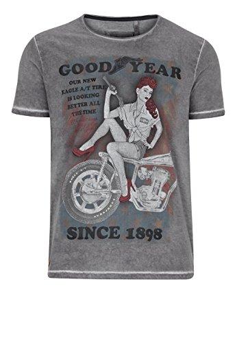 Goodyear T-Shirt Vincent Vintage Grey