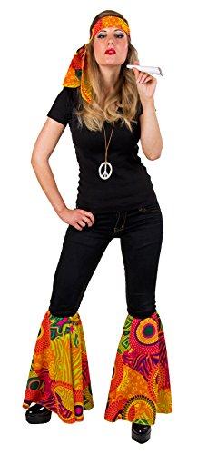 Hippie Frauen Kostüm - Festartikel Müller 900129 - Hippieset, 2-teilig