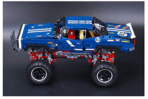 TGSEA 20011 1605 Stück The Technic Series Super Classic Limited Edition von Off-Road Fahrzeugmodellbausteinen Bausteine Spielzeug Ziegel Spielzeug 41999