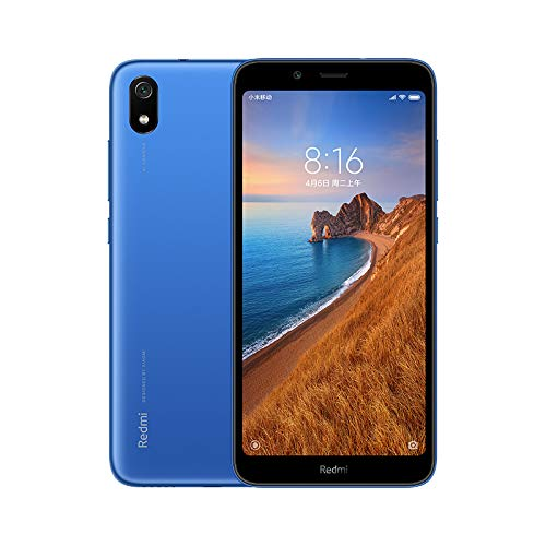 "Xiaomi Redmi 7A Azul 2GB 32GB 5.45"" HD Snapdragon 439 Octa Core Mobile Phone 4000mAh 13MP Camera Smartphone"