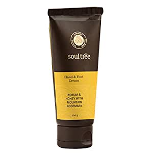 Soultree Hand And Foot Cream With Kokum, Honey And Mountain Rosemary (100Gm)