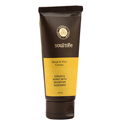 SoulTree Hand & Foot Cream With Kokum, Honey And Mountain Rosemary, 100gm