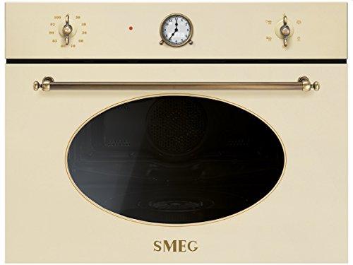 Smeg SF4800VPO1 Kompakt Dampfgarer Creme Einbau Dampfgargerät Kompaktdampfgarer
