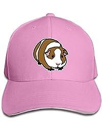 WBinHua Cappellini da Caps Cute Guinea Pig Adult Adjustable Snapback Hats  Trucker cap Unisex 3f3d66165e0