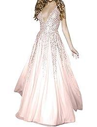 Amazon.it  vestiti da sera - Vestiti   Donna  Abbigliamento fa07c4b8477