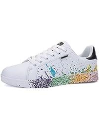 591614a45 Zapatillas de Deporte Moda Zapatos Casuales Zapatos de Caminar Unisex