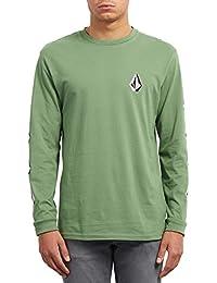Volcom Camiseta Manga Larga Deadly Stone BSC LS Verde Talla  S (Small) 57e4f330c7ab6