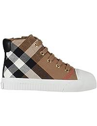 Burberry Scarpe Bambino Kids Check Print Lace-up Sneakers e062e983c42