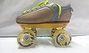 Faster F1 Roller Skates (Yellow) - 6