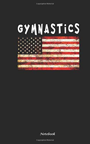 Gymnastics Notebook: Travel Writing DIY Diary Planner Note Book - Softcover, 100 Lined Pages + 8 Blank (54 Sheets), Small Lightweight 5