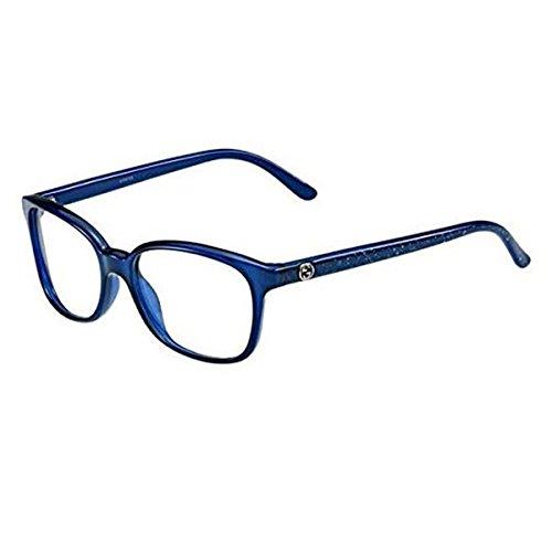 Gucci 3629 Gg Logo Blue / Silver Glitter Diamonds Kunststoffgestell Brillen