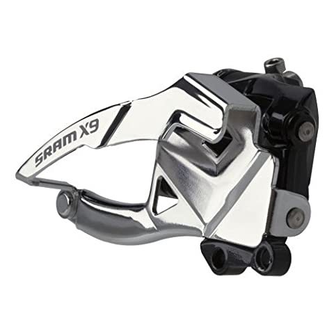 SRAM X9 Front Derailleur 2 x 10 Low Direct Mount S3 39T Top Pull by Sram MTB