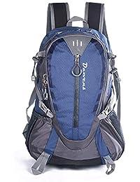 Daxvens 25L Lightweight Hiking Backpack,Nylon Lightly Waterproof School  Daypack,Running Camping Short Trips b7e1962e6d1ef