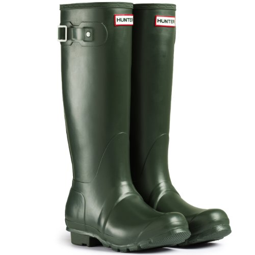 Mens Hunter Wellington Boots Original Tall Rain Snow Wellies New UK 6-12