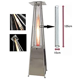 BUKO Sostituzione del Tubo di Vetro per Il riscaldatore del Patio a Gas Pyramid