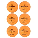 #9: Artengo FB800 Table Tennis Balls Pack Of 6 - Orange