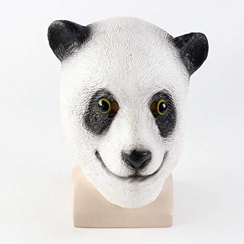 OuYangs Cute Giant Panda Kopf Maske Kopfbedeckungen, Halloween -