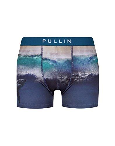 Pull-In Boxer-Shorts Masuni Schwarz-weiß Jaw