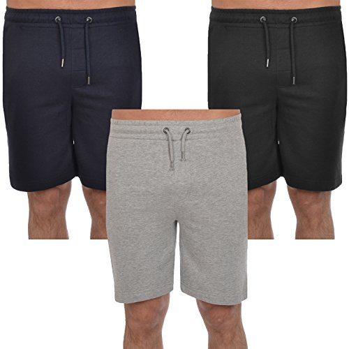 Mens-Jogger-Shorts-Brave-Soul-Cotton-Sports-Training-Summer-Gym-Pants