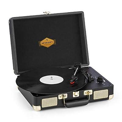 Auna Peggy Sue Platine Vinyle avec Enceintes • Platine Vinyle par Auna