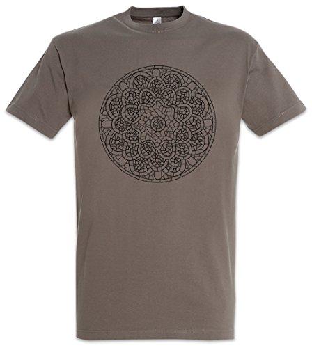 Urban Backwoods Mandala VII T-Shirt – Yantra Hinduism Buddhism Buddhismus Hinduismus Hindu Shiva Buddha Dharma Govinda Indien India Om Größen S – 2XL