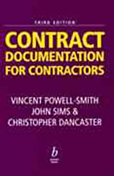 Contract Documentation for Contractors
