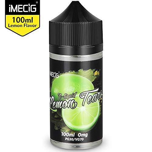 IMECIG 100ml E líquido Lágrima limón Liquido Vaper