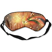 Sleep Eye Mask Bubble Art Lights Lightweight Soft Blindfold Adjustable Head Strap Eyeshade Travel Eyepatch E6 preisvergleich bei billige-tabletten.eu