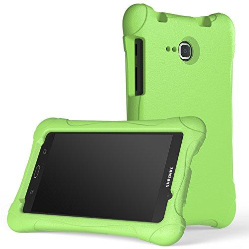 Samsung Galaxy Tab A 7 Hülle Case - MoKo Superleicht EVA Stoßfest Kinderfreundlich Kinder Schutzhülle Tasche Schale Folio Bumper Cover für Samsung Galaxy Tab A 7.0 Zoll SM-T280/SM-T285 2016 Tablet-PC, Grün
